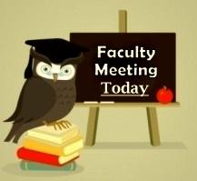 faculty meeting cardinal spellman high school