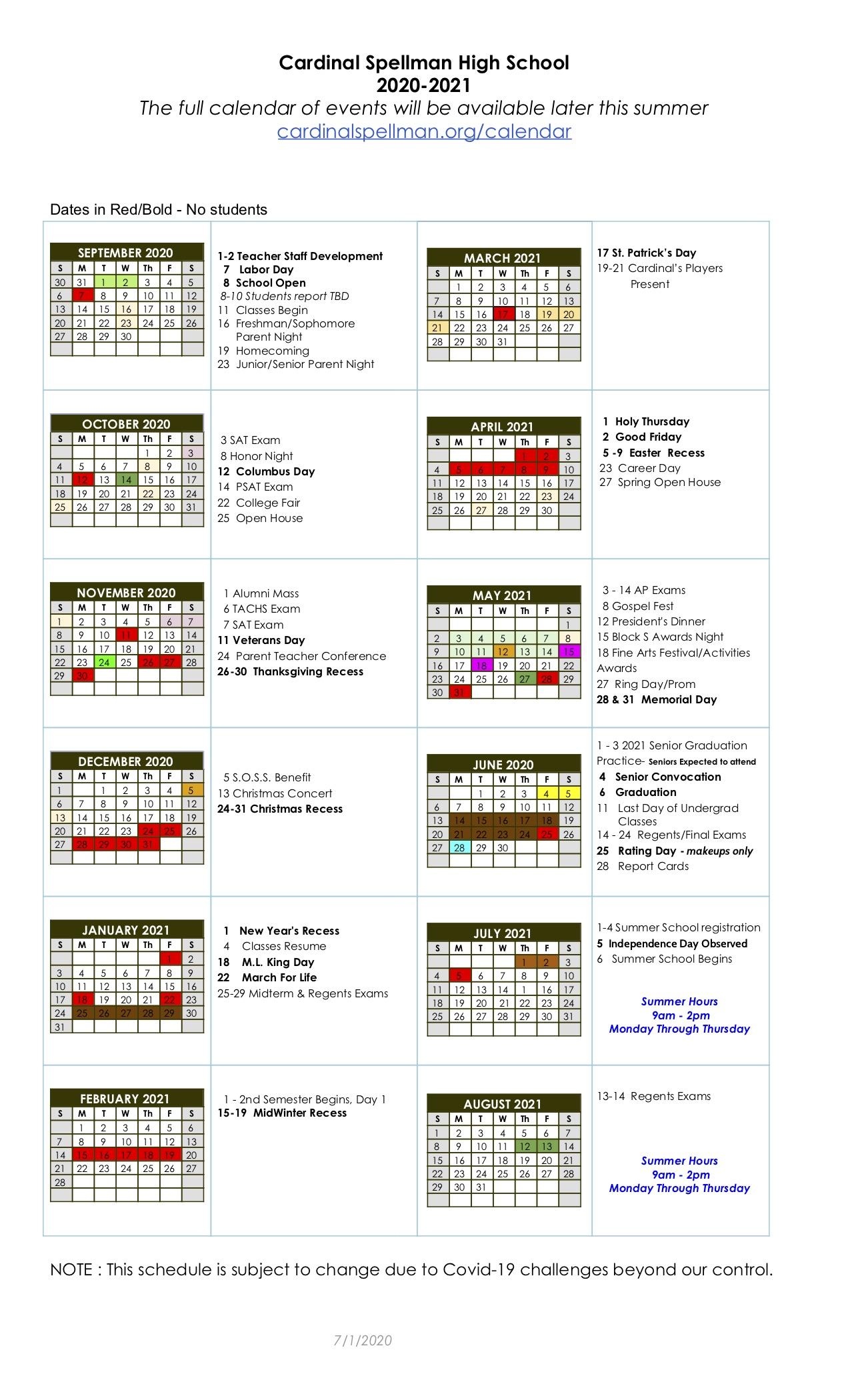 Rider University Academic Calendar 2021 2020 2021 Academic Calendar   News and Announcements